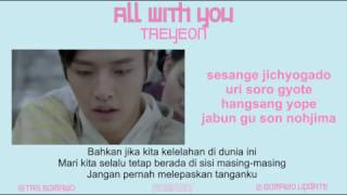 Gambar cover TAEYEON - ALL WITH YOU (Ost. Moon Lovers) [MV, EASY LYRIC, LIRIK INDONESIA]