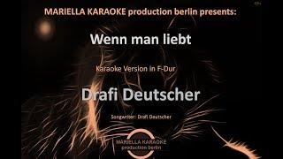 Drafi Deutscher  Wenn man liebt (Karaoke Version)