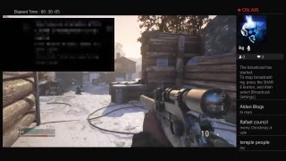 Merry Christmas live stream on cod ww2