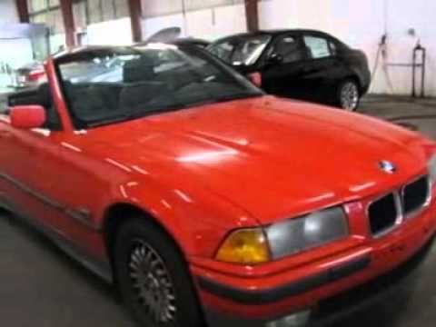 1994 Bmw 3 Series 2dr Convertible 318ic Convertible