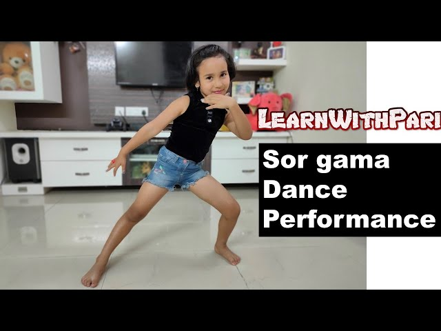 Sor gama dance performance| Guleba Song | Gulaebaghavali   LearnWithPari