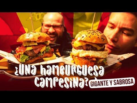 ¿Una Hamburguesa Campesina? Campesinos Maestros en Jugos y Hamburguesas | Los Insaciables