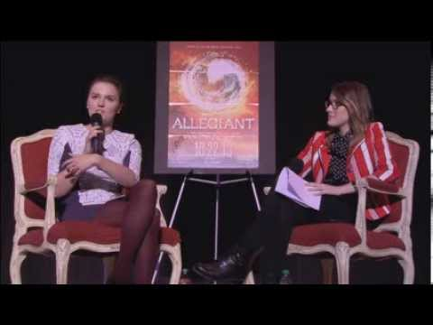 Veronica Roth LIVE from the ALLEGIANT tour