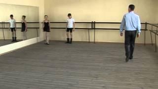 Татар биюе дәресләре. Уроки татарского танца. Tatar dance 4