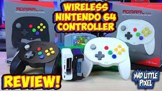 hyperkin Admiral Review - A Wireless Controller For Nintendo 64 (N64)