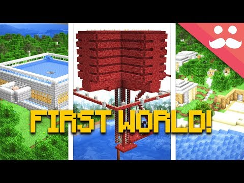 I Found my FIRST MINECRAFT LET'S PLAY WORLD! thumbnail