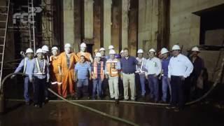 FCC finaliza la estructura submarina del túnel de Coatzacoalcos
