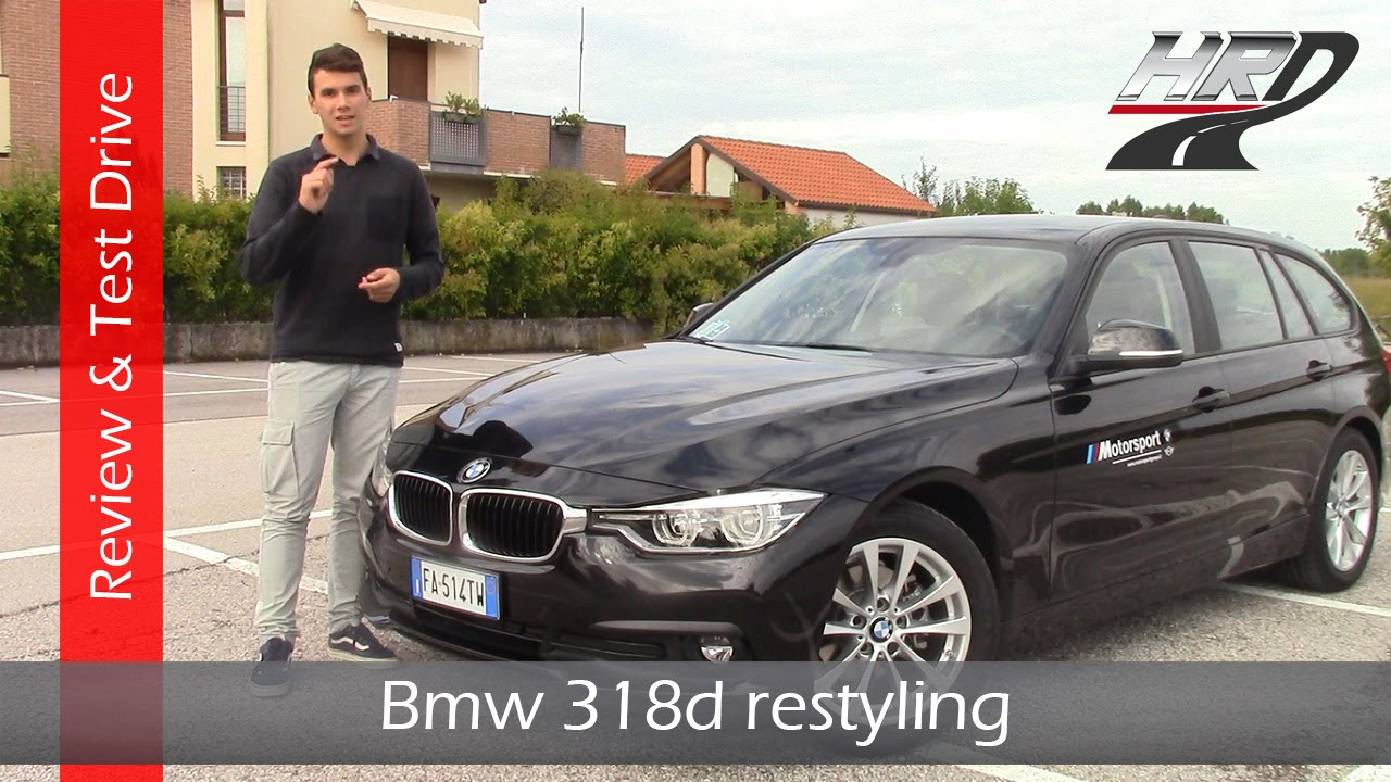 2015 bmw 318d touring facelift 150 hp test drive prova su strada review recensione youtube. Black Bedroom Furniture Sets. Home Design Ideas