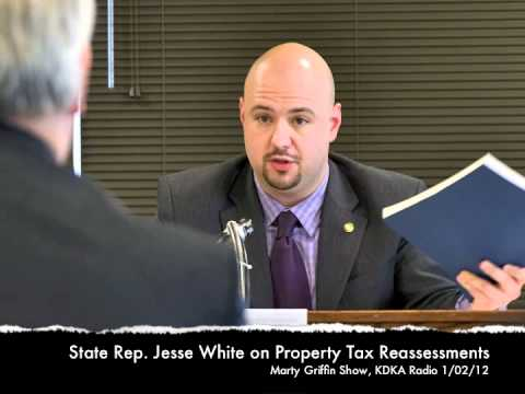 Jesse White and Rich Fitzgerald discuss property tax reassessment on KDKA Radio