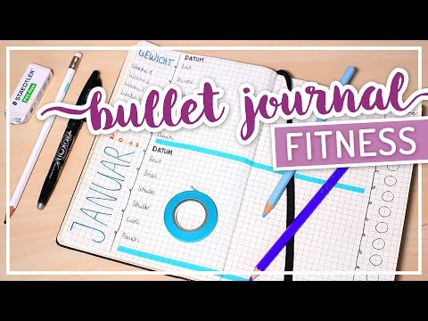 Bullet Journal – FITNESS TRACKING #TypischSissi