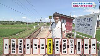 津軽の田園地帯を駆け抜ける「弘南鉄道弘南線」 あどばるーんの2人が、一日乗り放題のお得なパスを使って、 このローカル線にのって旅を楽しみます。 ・新山大は、レンズ ...