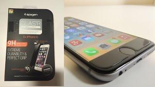 Spigen GlasTR Slim Tempered Glass Screen Protector For iPhone 6s & 6s+