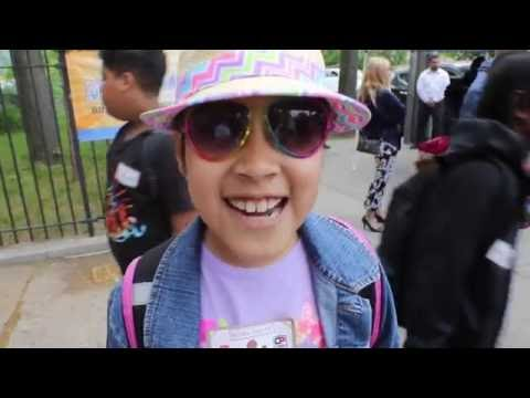 National Donut Day: High fives at Staten Island school