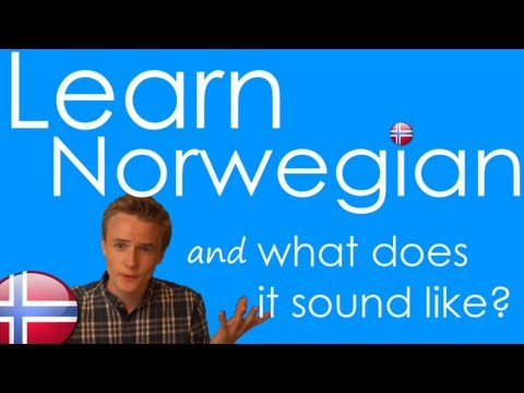 How to Speak Norwegian! Basic Language Guide - Learn Norwegian