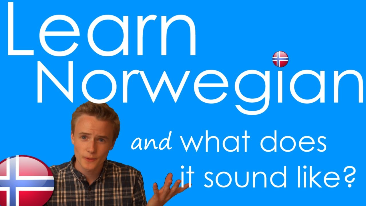 How to Speak Norwegian! Basic Language Guide - Learn Norwegian ...