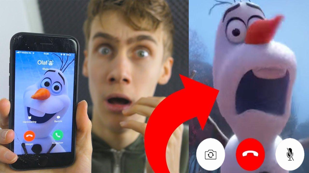 Download Ik Bel Olaf Uit Frozen En Hij Neemt Op!