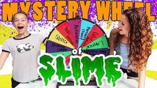Mystery Wheel Of Slime Challenge!!!