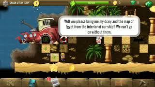 Crash site in Egypt - #1 Egypt Main - Diggy's Adventure