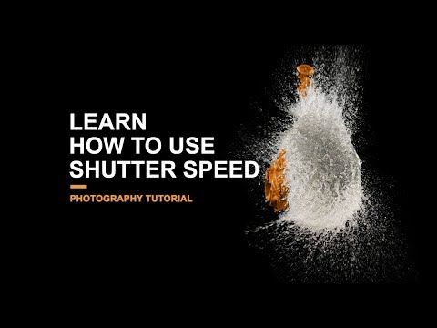 Learn how to use Shutter Speed - Photography Tutorial