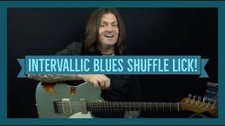 Lickorama Ep36: Intervallic Blues Shuffle Lick