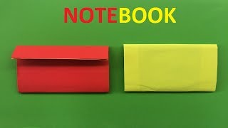 How to make a paper notebook | An Easy Paper Notebook | Easy Mini Notebook from ONE sheet of Paper