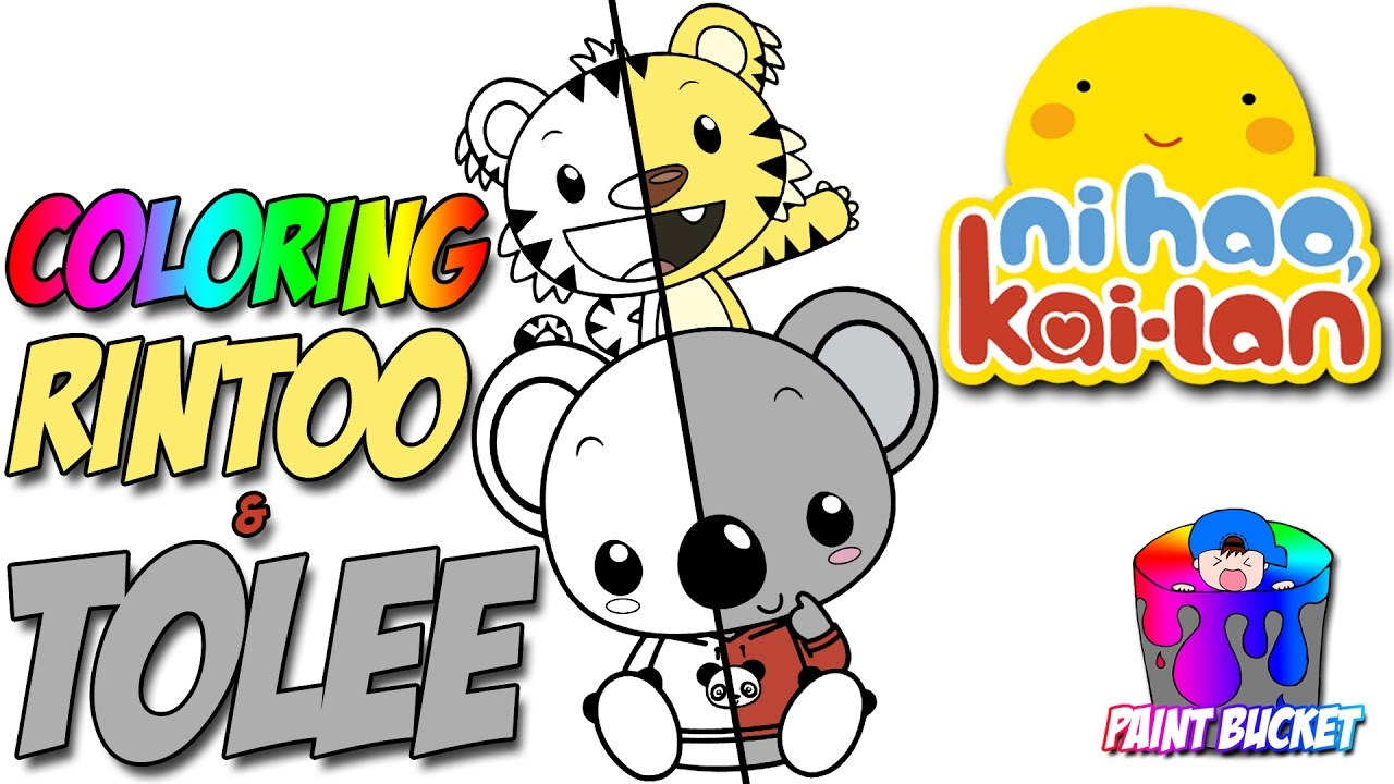 ni hao kai lan rintoo u0026 tolee coloring pages nickelodeon nick jr