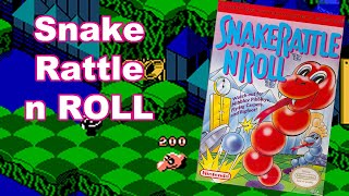 Snake Rattle 'n' Roll (NES) Mike Matei Live