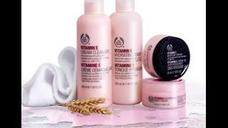 Review: The Body Shop Vitamin E Line