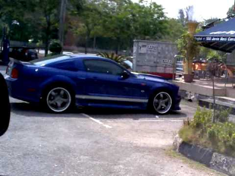 Ford Mustang  Spotted At Shah Alam