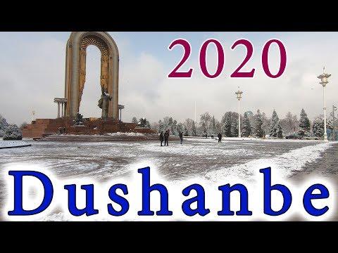 Пешком по Душанбе 2020