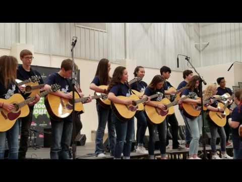Salina South Middle School Advanced Guitar Ensemble