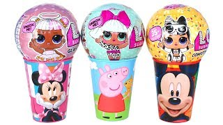 Super Surprise LOL Glitter Glam Series 2 Opening Confetti Pop Peppa Pig Minnie Mouse Surprise Toys