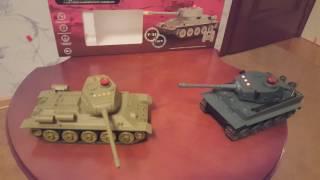 Танковый бой Т34 vs Тигра(Танковый бой с системой инфракрасного наведения Т34 и Tiger Если понравилось видео, подписывайтесь на мой..., 2016-11-29T14:59:59.000Z)