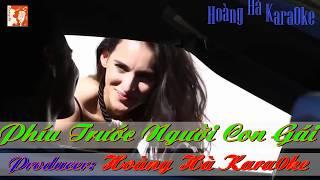 [Karaoke HD] - Phía Trước Người Con Gái - Karaoke Tone Nam - Karaoke Beat Gốc Chuẩn