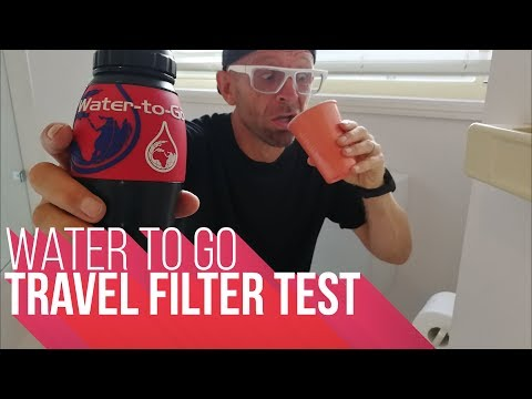 Water To Go | Travel Filter Test
