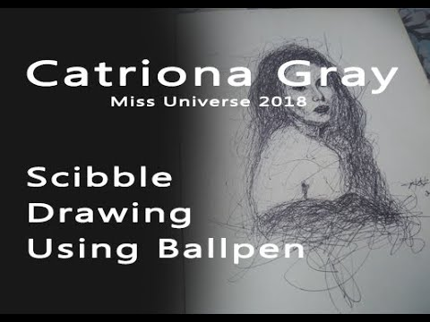 Catriona Gray | Scribble Drawing