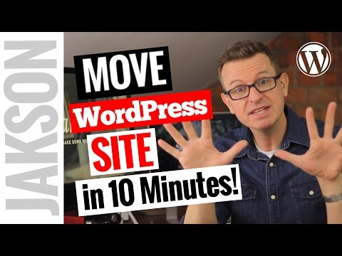 How to Transfer/Migrate an Entire WordPress Site to New Host in 10 minutes – Duplicator Plugin