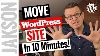 How to Transfer Migrate an Entire WordPress Site to New Host in 10 minutes Duplicator Plugin