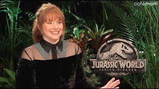 Bryce Dallas Howard Talks Jurassic World: Fallen Kingdom