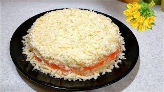 Вкусный салат-ВИТАМИННЫЙ для тех кто бережет фигуру! ПП рецепт.