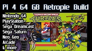 "Raspberry Pi 4: Retropie ""Unofficial"" Emulation testing N64, PlayStation, Dreamcast, Saturn & more"