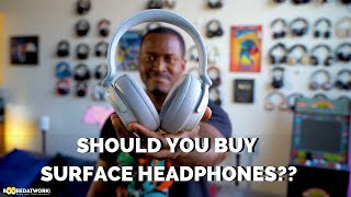 SHould you buy the Surface Headphones? Surface Headphones: https://...