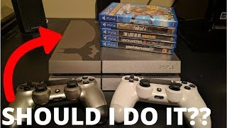 Trading In My ENTIRE PS4 COLLECTION... How Much Will GameStop Pay Me?? (You