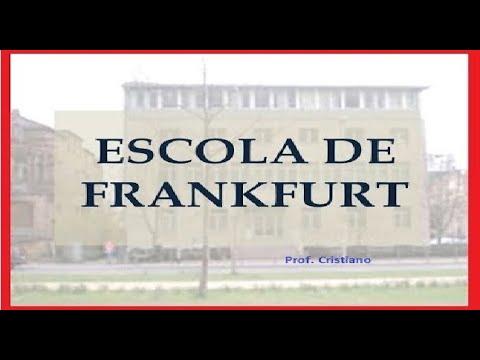 RESUMO SOBRE A ESCOLA DE FRANKFURT