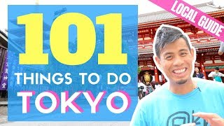 Japan Travel Guide: 101 Things to do in Tokyo, Japanese Food option...