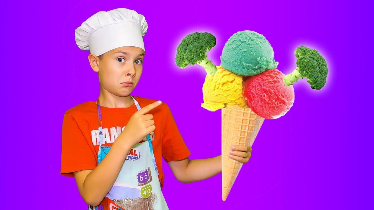 Серёжа сам приготовил мороженое! Почему маме не понравилось? Фаст Сергей
