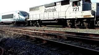 Amtrak Acela delivery