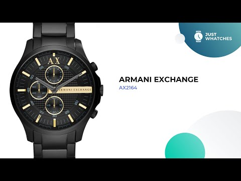 Trendy Armani Exchange AX2164 Men Watches Full Specs, Detailed 360°, Features