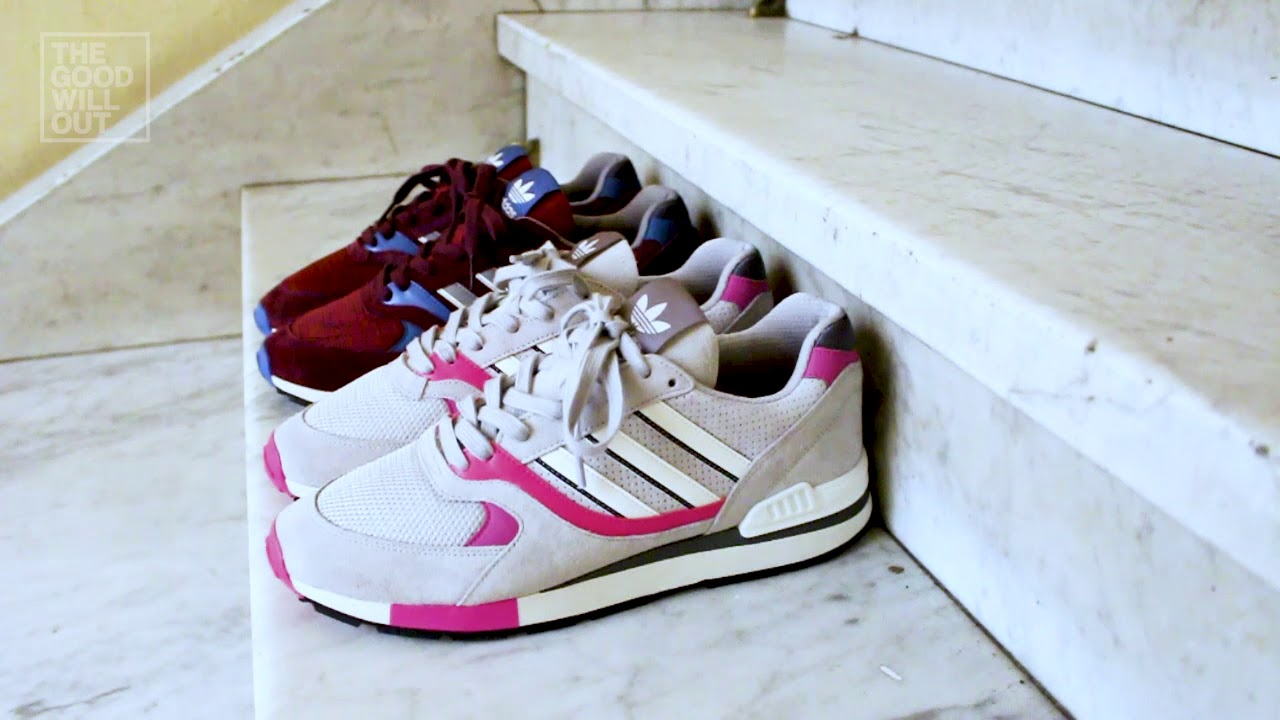 49a946f3ebb adidas Originals Quesence at The Good Will Out - YouTube