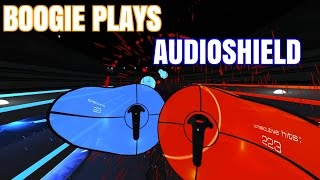 AUDIOSHIELD, VR RHYTHM GAME - BOOGIE PLAYS